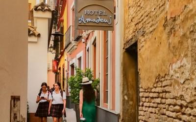 Zonnig, zomers en zinderend Sevilla