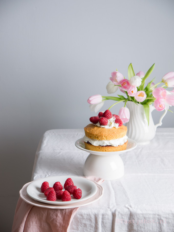 Stukkie taart van Victoria, Victoria sponge cake
