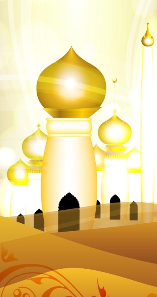 6 8 - أحدث وأروع الخلفيات الدينية لشهر رمضان المعظم لجوالات الآيفون
