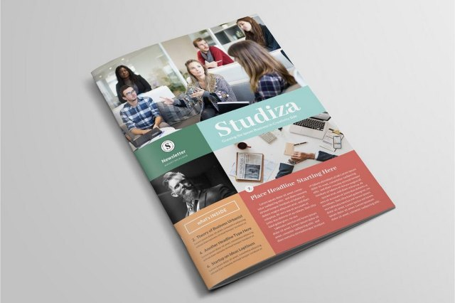 Youth Church Newsletter Template