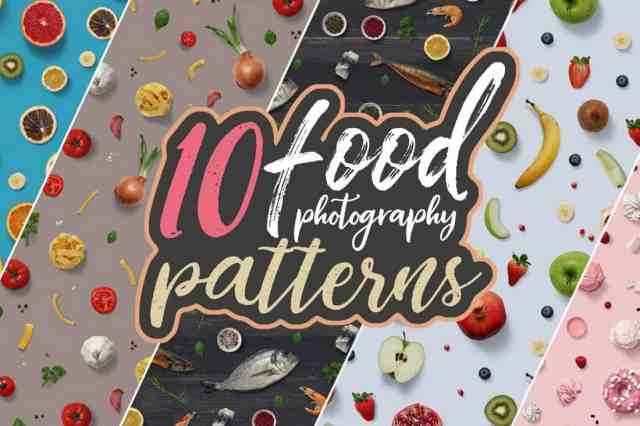 10 Food Photography Patterns