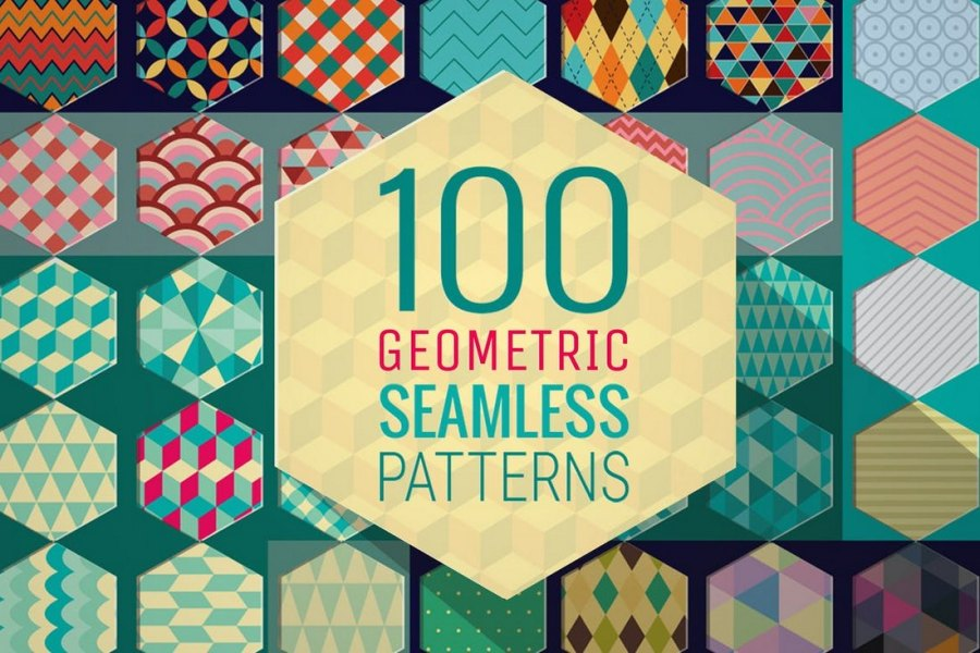 100 Geometric Patterns