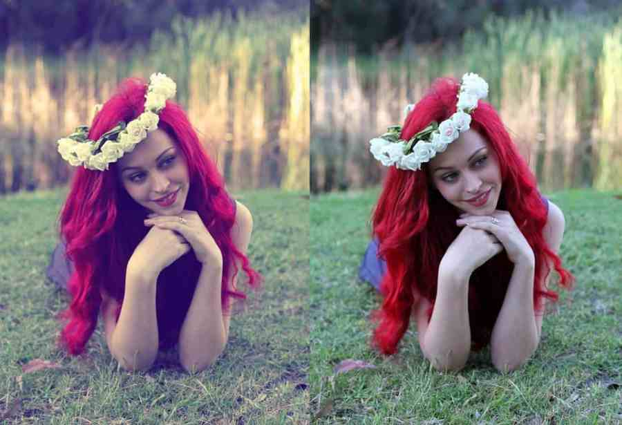 Fantasy - Free Portrait Photoshop Action