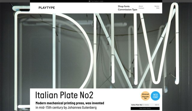 Top typography resources: Playtype