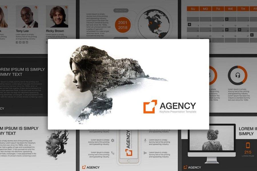 Agency - Animated Keynote Template