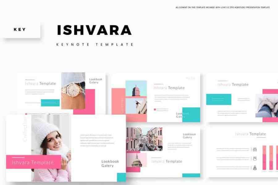 Ishvara - Animated Keynote Template
