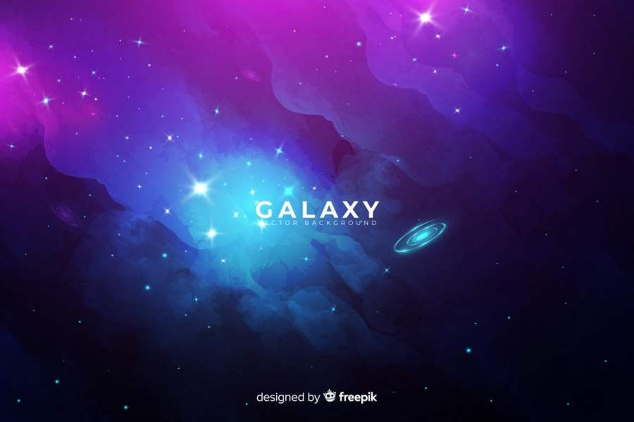 Free Abstract Galaxy Background