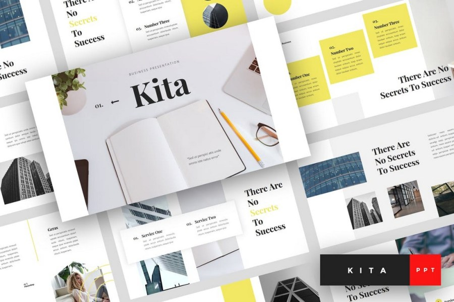 Kita - Business PowerPoint Template