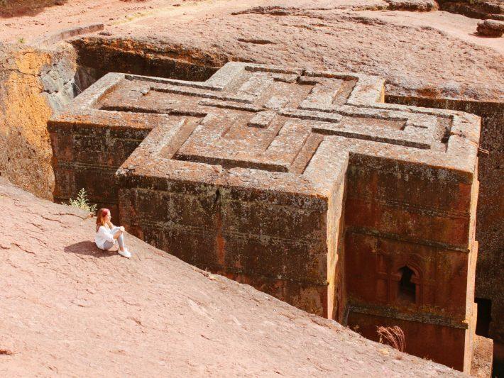 Iglesias Lalibela Etioóa