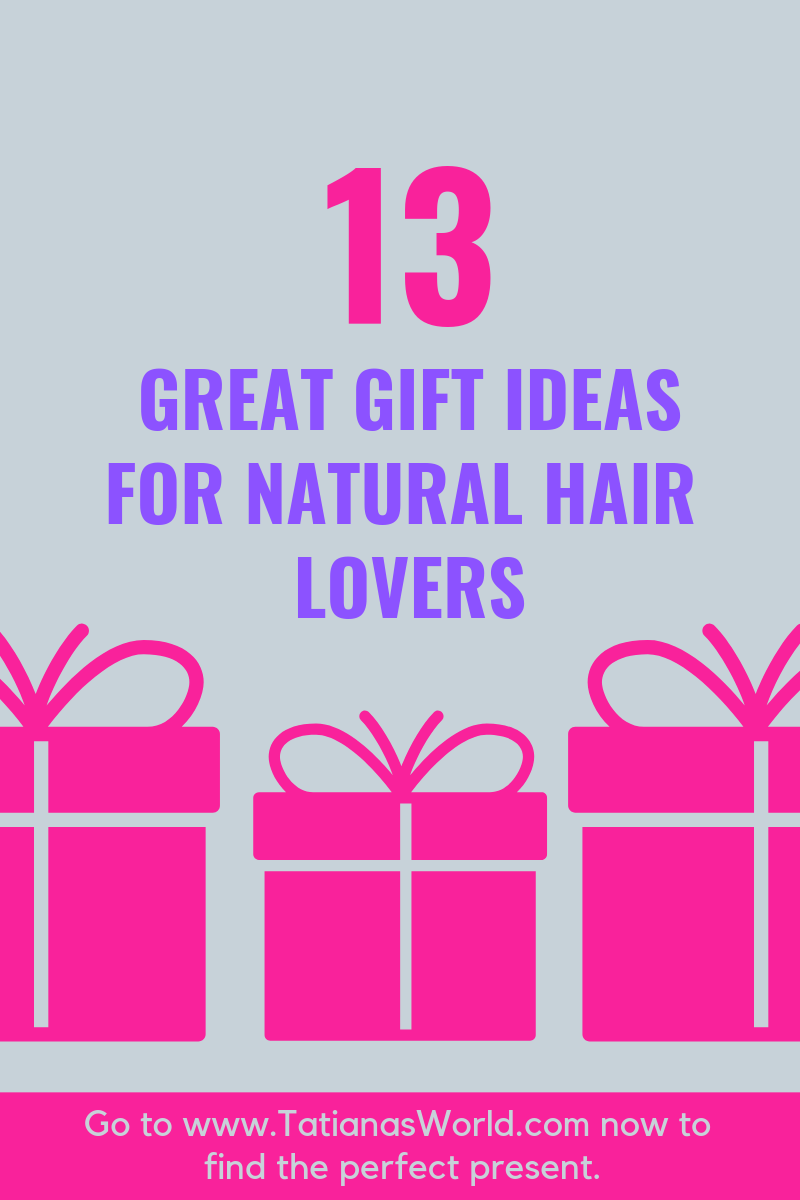 gift guide for natural hair lovers women with natural hairstyles