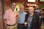 John Hickson, Barry Madigan and Barry Belt.