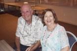 Bob Oddy and Robyn Carriage.