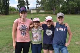 Olivia Smith, Eadie McKay and Ella and Jaida Smith.