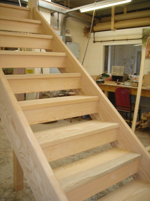 Wooden Close Tread Open Tread Stair Manufacturer In Derby   Open Tread Staircase Designs