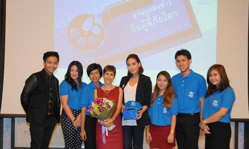 UNHCR announces first Thai celebrity supporter