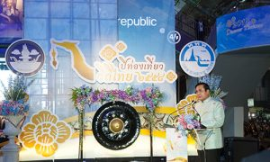"Prime Minister General Prayut Chan-o-cha opened the TAT's new ""2015 Discover Thainess"" tourism campaign."