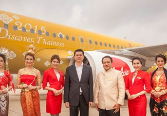 TAT and AirAsia introduce Discover Thainess aircraft and promotions