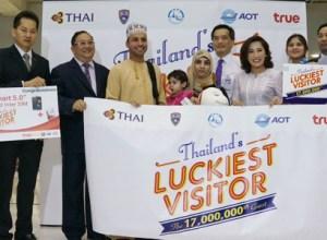 Thailand welcomed 17 millionth tourist as Green Season arrivals steam ahead