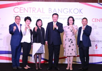 Central Bangkok To Become Hub of Thai Tourism Entertainment Shopping over Festive Season