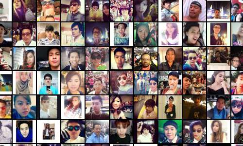 Pose grid_bangkok_ from httpselfiecity.net