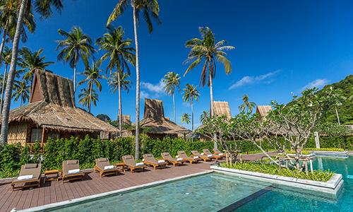 Tropical island romance at Phi Phi Island Village Beach Resort