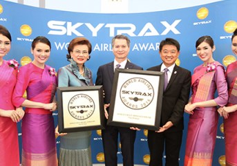 THAI wins two Skytrax awards 2016