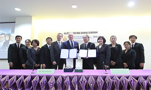 Hilton to partner with Prince of Songkla University to train hospitality staff
