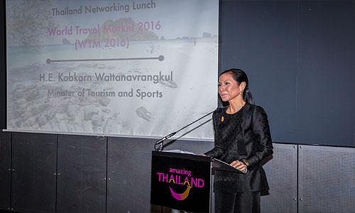 Thai Tourism Minister Kobkarn Wattanavrangkul