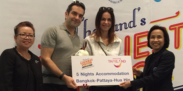 Tropical Phuket attracts Thailand's 31 millionth visitor of 2016