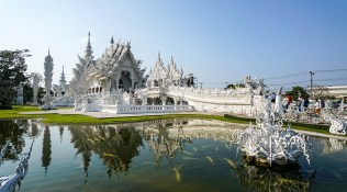 Visiting the White Temple in Chiang Rai