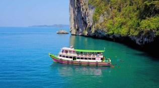 Visiting the islands of Krabi