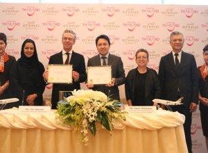TAT and Etihad sign landmark million tourism agreement