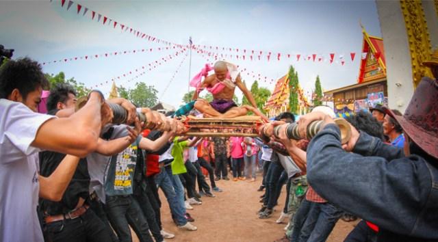 Brutal Ordination Parade at Ban Non Salao – Ban Non Tan, Phu Khiao district, Chaiyaphum