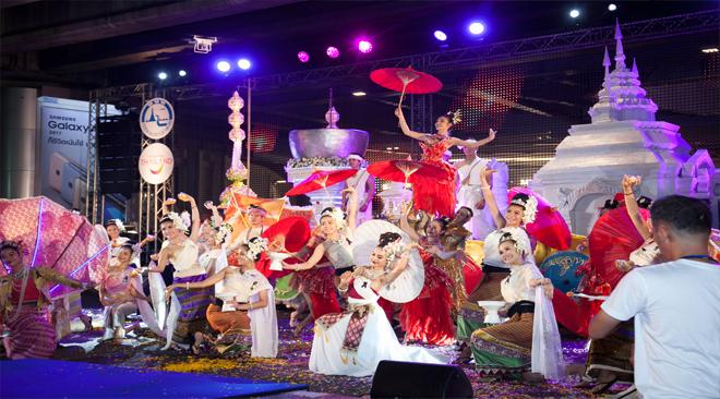 Nationwide Songkran celebrations kick off with colourful Bangkok extravaganza