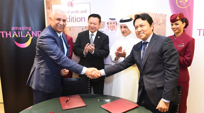 Qatar Airways and TAT sign agreement to boost tourism to Thailand 1