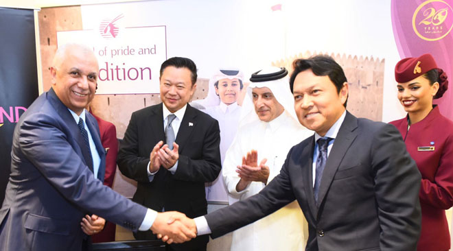 Qatar Airways and TAT sign agreement to boost tourism to Thailand