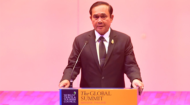 Thai Prime Minister delivered opening remarks at 2017 WTTC Global Summit in Bangkok_01