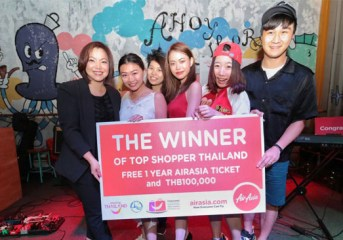 Photo Release: Hong Kong team won Top Shopper shopping challenge in Bangkok