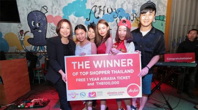 Hong Kong team won Top Shopper shopping challenge in Bangkok (2)