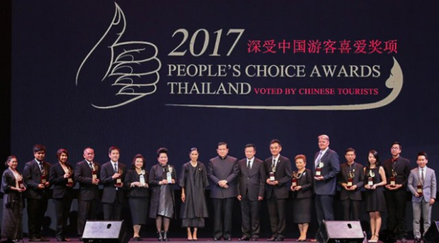Thailand announces 14 Thai tourism favourites as voted by Chinese visitors