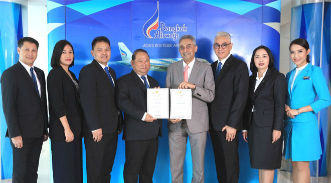 Bangkok Airways named Top 10 Airlines Worldwide 2017 by Smart Travel Asia
