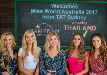 Miss World Australia 2017 and Runners-up discover 'Women's Journey Thailand' tourism offers