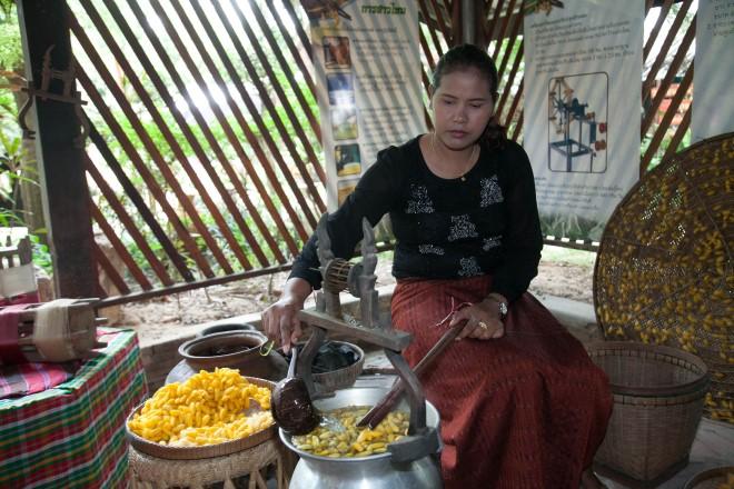 Thai textiles
