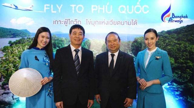 Bangkok Airways launches new direct flight between Bangkok and Phu Quoc
