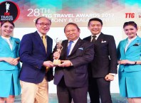 Bangkok Airways voted Best Regional Airline 2017 by TTG Asia