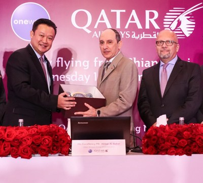 Qatar Airways opens fourth new gateway into Thailand