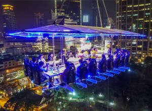 Dinner in the Sky takes off in Thailand