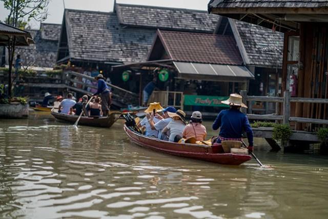 Four Regions Floating Market, Pattaya