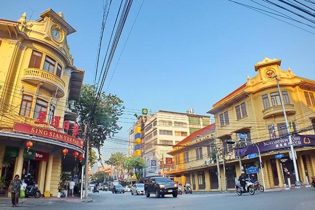European Houses in Yaowarat (SAB cross roads)