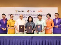 Nok Air, THAI, THAI Smile launch codeshare Bangkok-Mae Hong Son flight